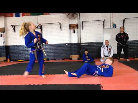 NMMA Ella's Brown with Black Stripe Belt Grading