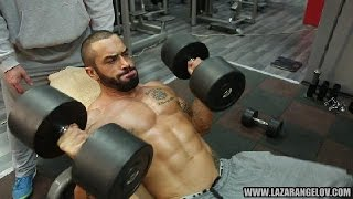 Repeat youtube video Lazar Angelov Chest/Back Workout 2014