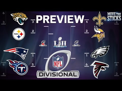 NFL Playoffs Divisional Round Game Predictions & Players to Watch | Move the Sticks | NFL