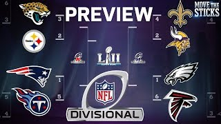 NFL Playoffs Divisional Round Game Predictions & Players to Watch   Move the Sticks   NFL