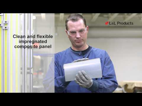 LLP forming composite panels using LF610