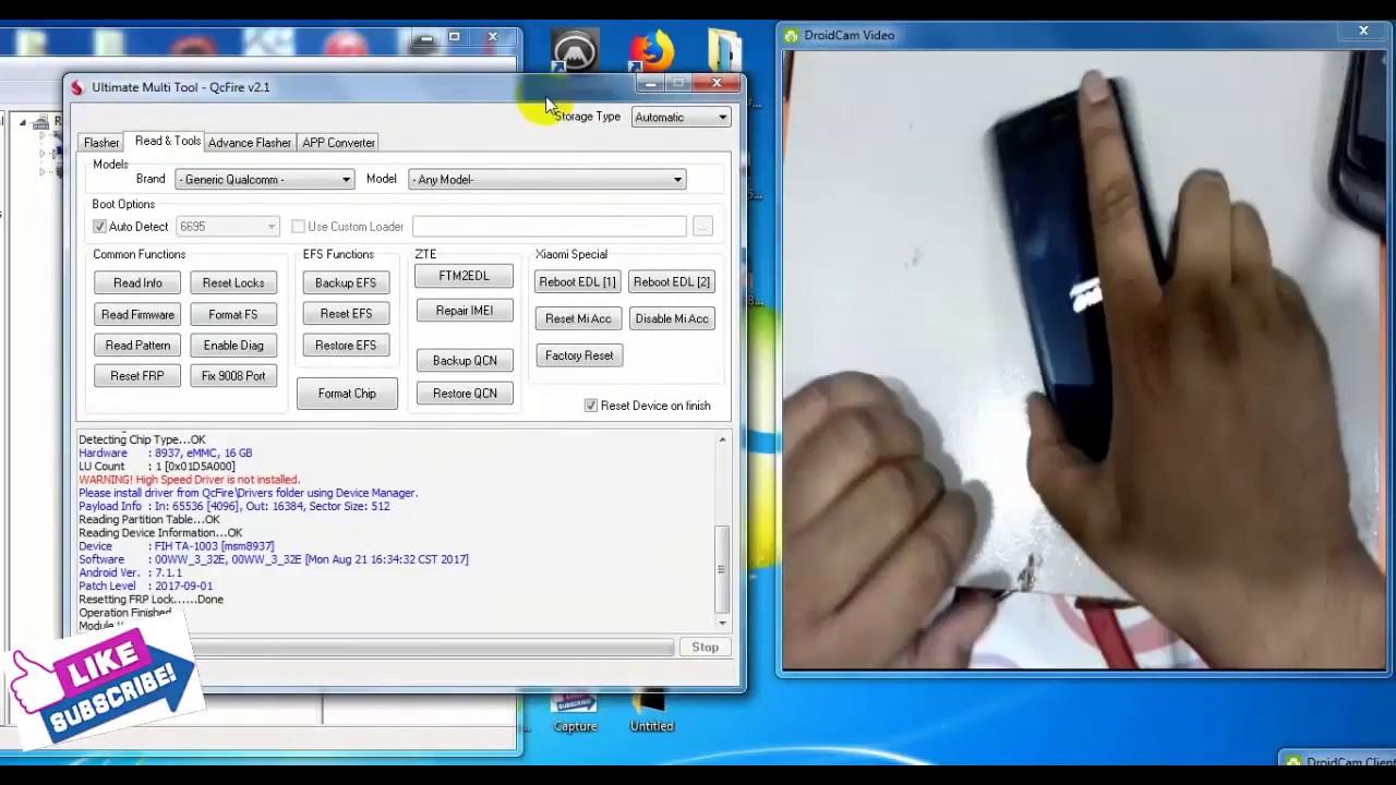 Nokia 5 /TA1053 frp reset with umt dongle