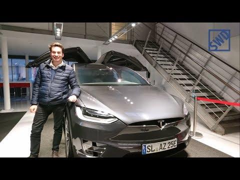 Schlüssel + Abholung  meines neuen Tesla Model X in Hamburg
