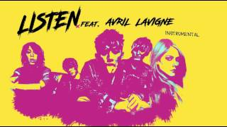ONE OK ROCK - Listen ( INSTRUMENTAL ) feat. Avril Lavigne カラオケ
