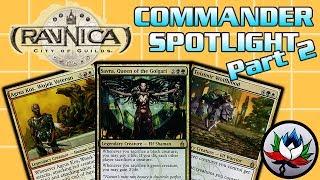 MTG – Ravnica: City of Guilds EDH/Commander Deck Tech Spotlight for Magic: The Gathering - Part 2!