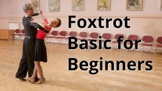 How to dance Slow Foxtrot | Basic Steps for Beginners