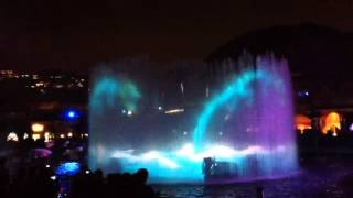 dancing water with fireworks@ocean park 1