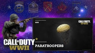Paratrooper Scorestreak SUCKS - Call of Duty WW2 Live Gameplay
