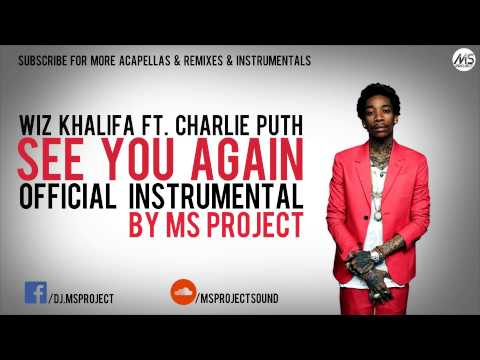 Wiz Khalifa  See You Again ft Charlie Puth  Instrumental + DL