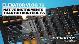 видео Native Instruments KONTROL S5