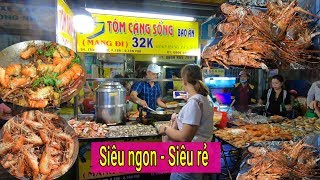 Đầu bếp Hotboy bán Tôm Hùm, Tôm càng xanh vỉa hè không ngon khách được trả lại ở Sài Gòn
