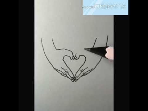 Hướng dẫn vẽ bàn tay với các biểu tượng cực đỉnh