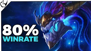 Top 1 80% Winrate Aurelion Sol w League of Legends