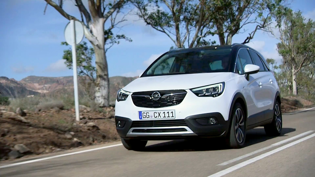 2017 opel crossland x youtube. Black Bedroom Furniture Sets. Home Design Ideas