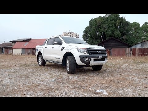 2012 Ford Ranger 2.2 4X4 XLT Wildtrak (High Rider, Double Cab) Start-Up and Full Vehicle Tour