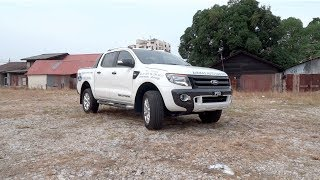 2012 Ford Ranger 2.2 4X4 Wildtrak (High Rider, Double Cab) Start-Up and Full Vehicle Tour