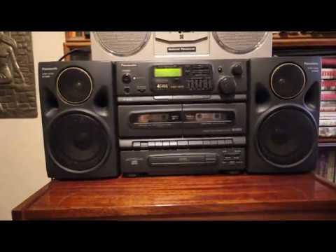 "Panasonic RX-DT 670. Панасоник из ""платиновой серии"" 90-х."