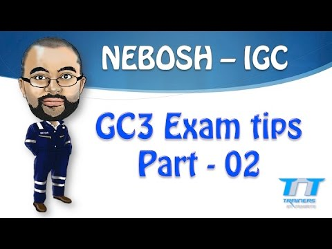 nebosh igc3 Nebosh certificate unit igc3 the aim of this unit is to help you prepare for your nebosh international certificate unit igc3: international health and.
