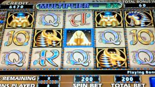 Cleopatra 2 5c Bonus Game - Aria Las Vegas Casino & Resort