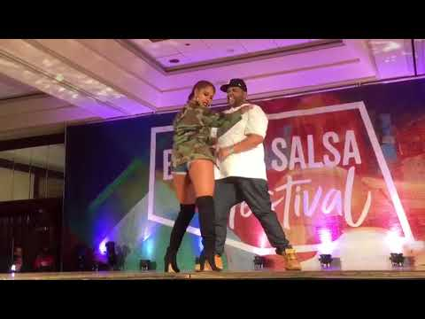 LL Cool J  Doin It at the 2017 Boston Salsa Festival Alex AnD Desiree