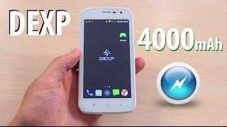 """Смартфон с мощным аккумулятором DEXP Ixion ML 4,5"""". Батарея 4 000 mAh. Подробный обзор"""