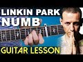Numb | Linkin Park | BEGINNER FRIENDLY | Guitar Lesson