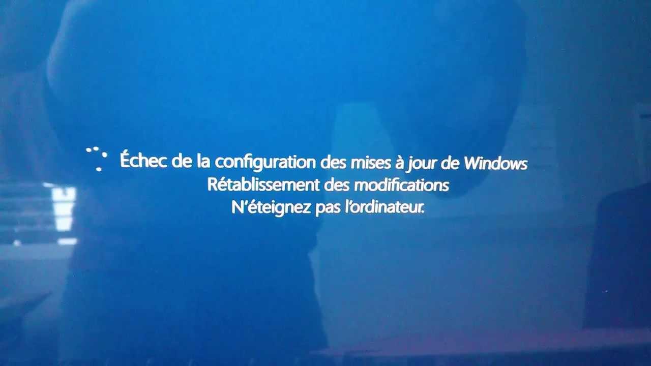 Windows 8 perfection #fail (update failure loop) - YouTube