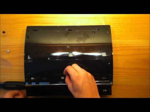 Ps3 Fat Disassembly How to Disassemble a Ps3 60gb
