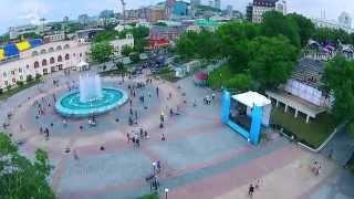 Над Владивостоком #4 _ Спортивная Набережная в День молодёжи. Владивосток День М