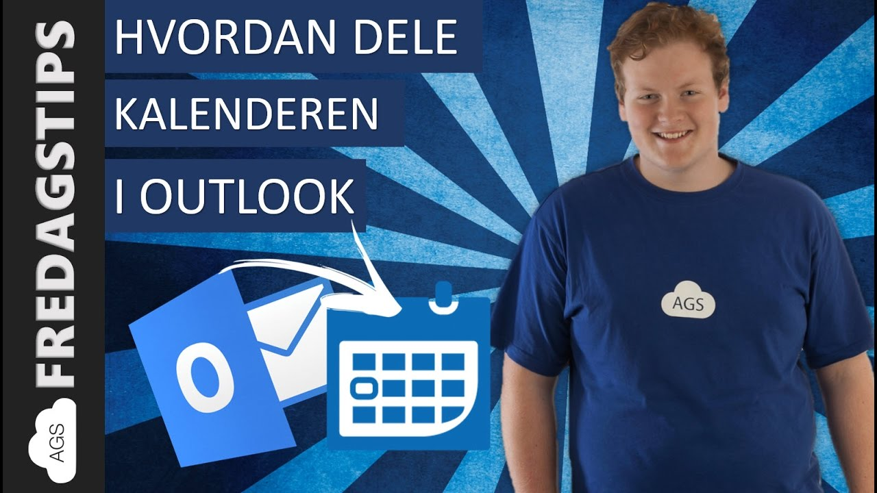 Hvordan dele kalenderen i Outlook