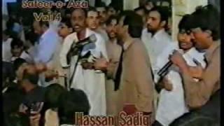 Shab Bedari 2003 (18/24) - Hasan Sadiq - Ya Rab Koi Masooma Zindan Main Na Tanha Ho (Noha)