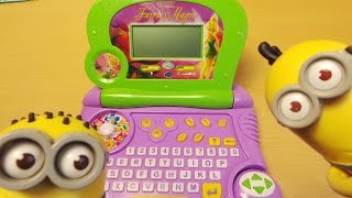 Worlds Best Disney Fairies Toy Preschool Music Laptop