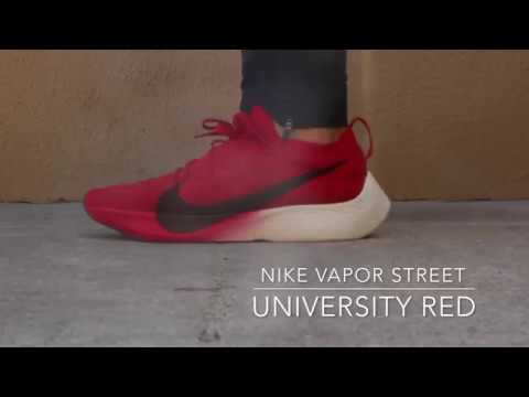 c66171fe1426 Nike Vapor Street Flyknit University Red On Foot   Best On feet review !