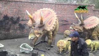 Taille de la Vie Animale de Marionnettes,Robot Animale Fabriqués en Chine