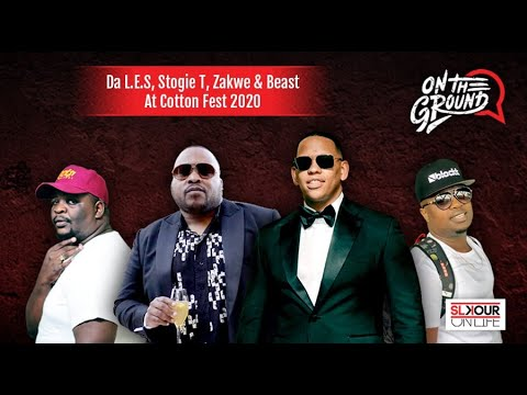 Slikour Interviews Da LES, Stogie T, Beast & Zakwe At 'Cotton Fest 2020'
