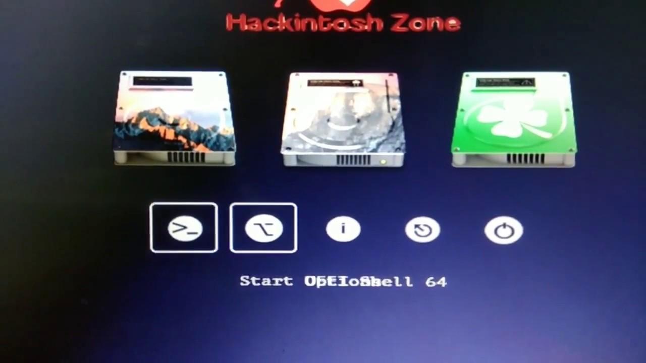 Mac OS X Hackintosh Sierra Zone on Asus H61M-K Dual core CPU