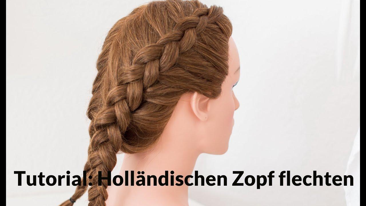 Holländische Zöpfe Flechten Anleitung