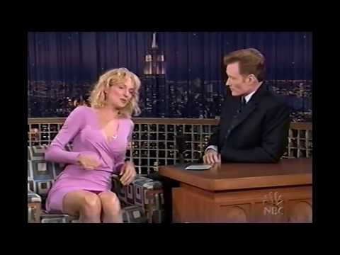 UMA THURMAN  HILARIOUS FIRST 'CONAN'