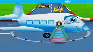МУЛЬТФИЛЬМ БУДНИ АЭРОПОРТА МУЛЬТИК ДЛЯ ДЕТЕЙ ПРО САМОЛЕТЫ Развивающий мультик про самолеты