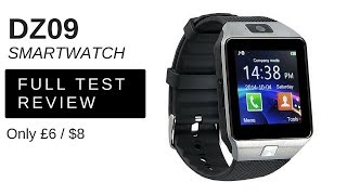 DZ09 Bluetooth Smart Watch review . Just £6 / $8 delivered