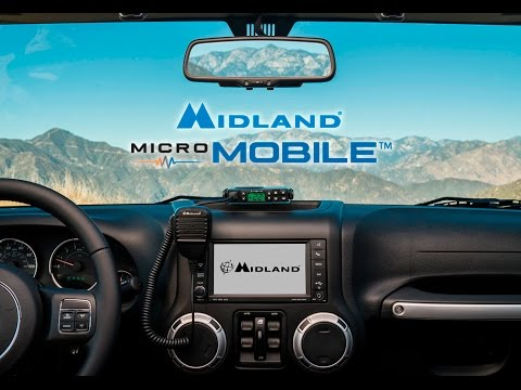 Midland MXT-100 Micro Mobile GMRS Radio Features