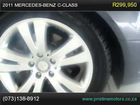 2011 MERCEDES-BENZ C-CLASS C 200 CGI BLUE EFFICIENCY AVANTGARDE