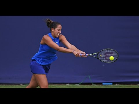 2016 Aegon Classic Quarterfinals   Madison Keys vs Jelene Ostapenko   WTA Highlights