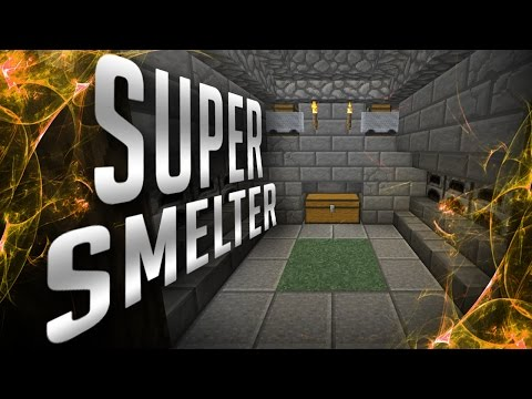 Minecraft: SUPER SMELTER | Lets Play Minecraft #4