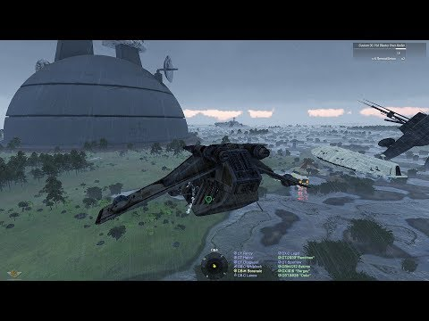 """JOINT OP ON BUG PLANET"" - STAR WARS Arma 3 501st, 212th, 101st Fun Op"
