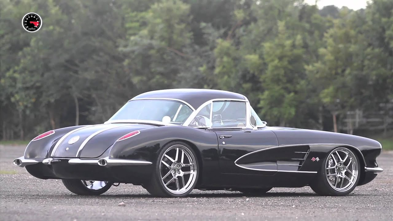 Corvette For Sale >> Corvette 1958 Custom # FULLPOWER 109 - YouTube
