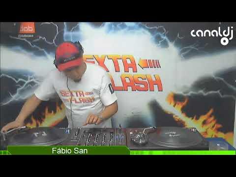 DJ Fábio San - Eurodance - Programa Sexta Flash - 13.10.2017