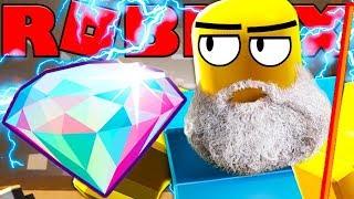 ZEUS STAFF MINES DIAMONDS SO FAST! - ROBLOX MINING TYCOON #9