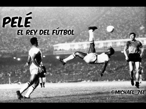 """Mejores Jugadas Y Goles De Pelé """"El Rey Del Fútbol""""."""