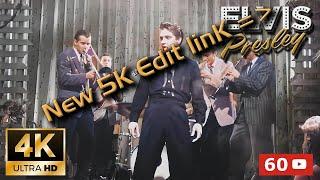 Elvis Presley 4K AI Colorized / Restored - Dixieland Rock 1958